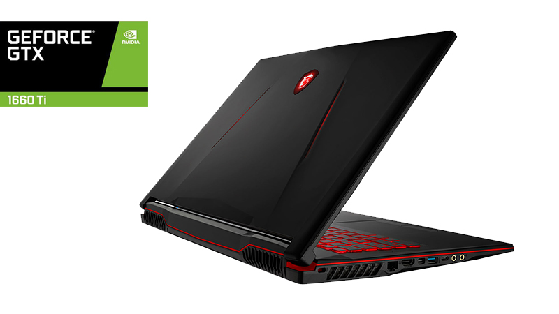 MSI GL73 9SD - Side View