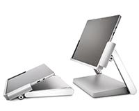 Kensington Docking station for Surface Pro in Studio & Desktop mode.