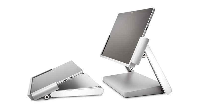 Kensington Docking station for Surface Pro in Studio & Desktop mode.
