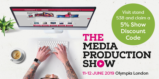 Media Production Show 11-12 June 2019 at Olympia