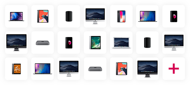 All the Apple Devices available with Devices for Teams