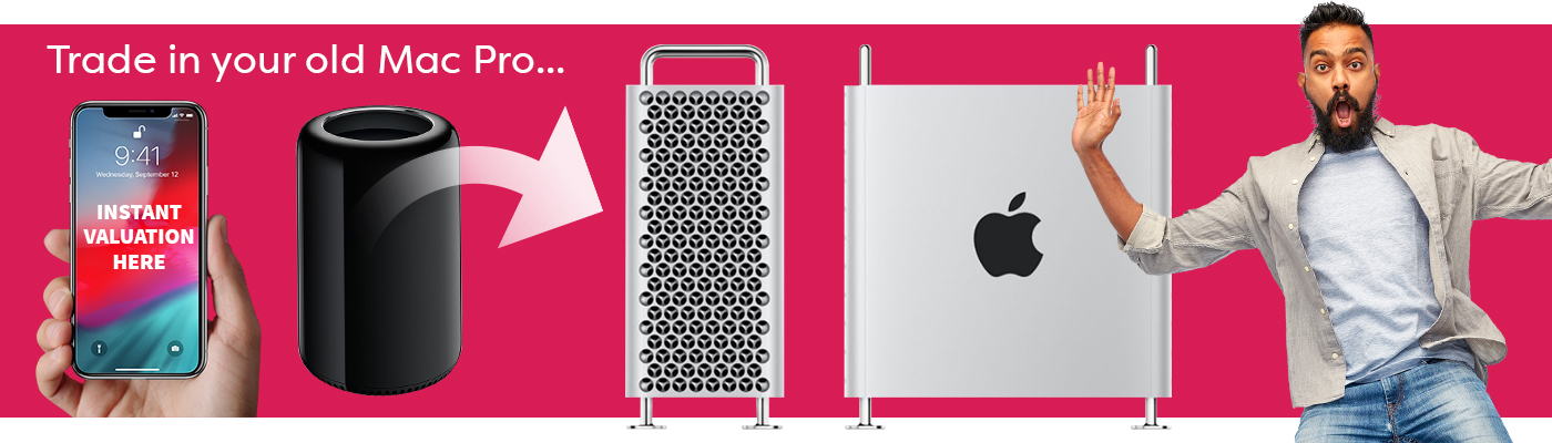 Trade in your old Mac & Apple equipment for money off your next lease!