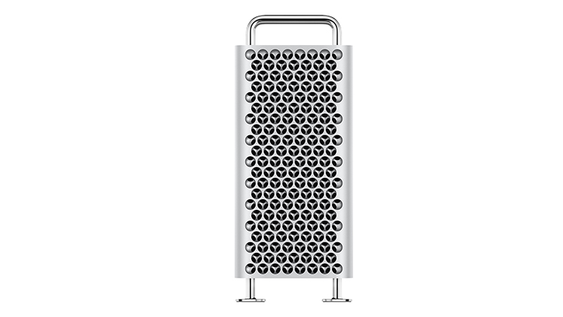 Front view of Mac Pro