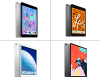 The entire Apple iPad family from the iPad mini 4 to the iPad Pro all available to lease from HardSoft.