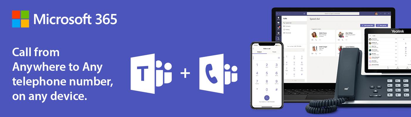 Microsoft Teams voice 365