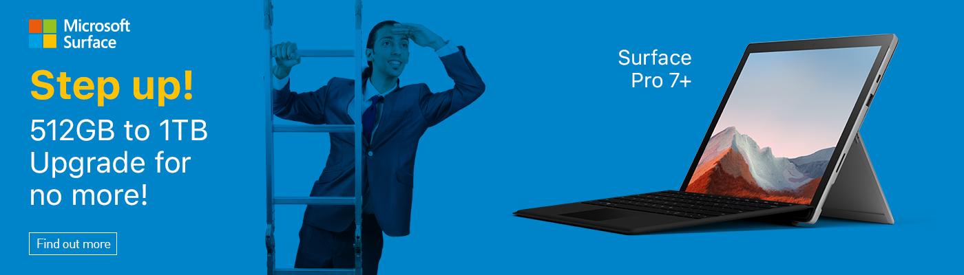 Microsoft Surface free upgrade to 1TB SSD