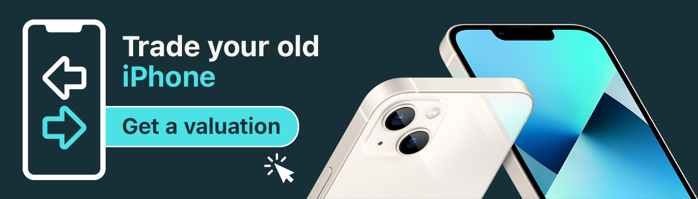 Trade in your old iPhone for cash