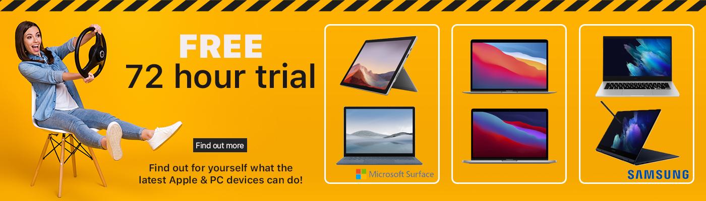 free trial of apple macbook free trial surface laptop