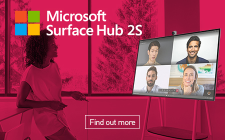 Find out more about the Microsoft Surface Hub 2S