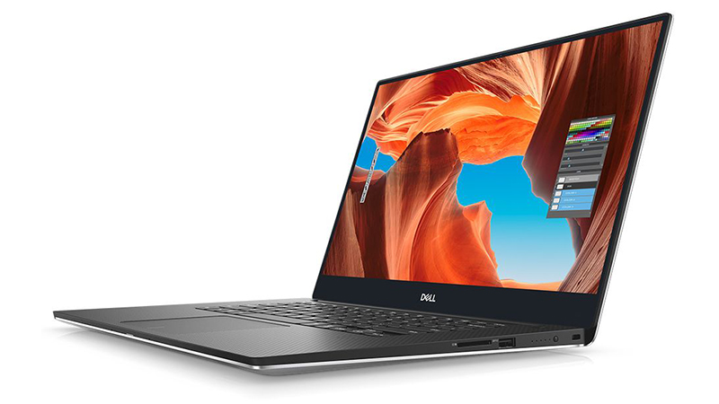 Left-Facing Dell-NEW-XPS-15, Open