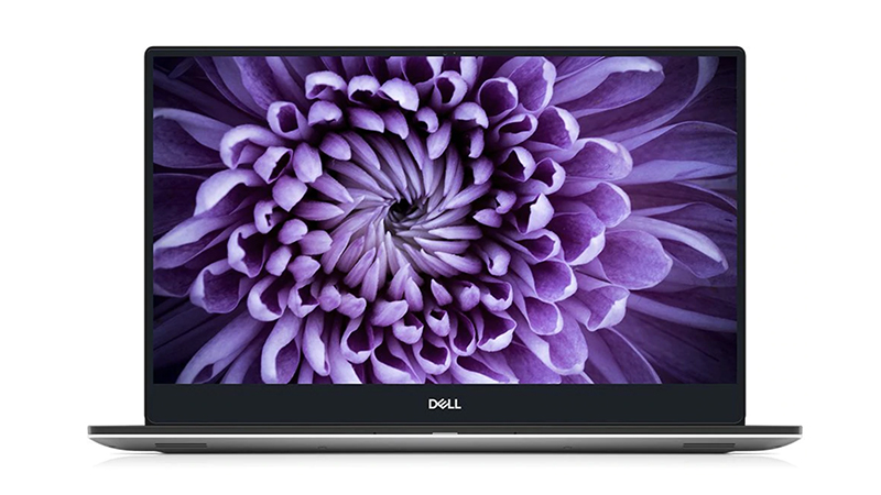 Front-Facing Dell-NEW-XPS-15-OLED, open