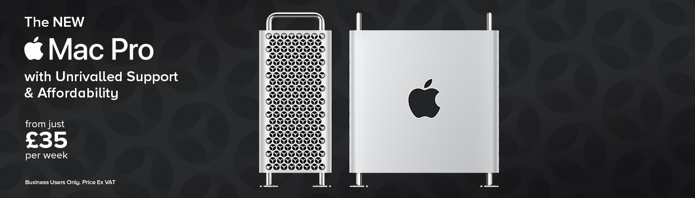 The NEW Mac Pro with Unrivalled Support & Affordability - from just £35 per week!