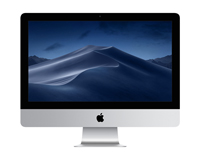 "Apple iMac 21.5"" Front View"