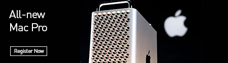 Register now & get all the information when the Apple Mac Pro becomes available!