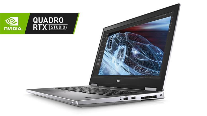 Nvidia Quadro RTX Studio Dell Precision 7740 - Gallery
