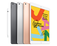 Apple iPad front and back view, Damage cover