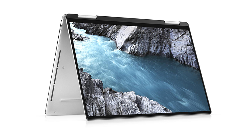 Folded View of the Dell XPS 7390