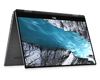 Dell XPS 15 2-in-1 tablet view