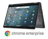 Dell Latitude 5300 2-in-1 ChromeBook Enterprise folded view