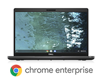 Dell Latitude 5400 Chrome Enterprise front open view