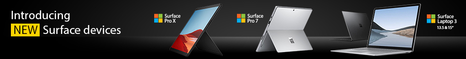 The Microsoft Surface Family - From HardSoft - Surface Pro 7, Surface Pro X & Surface Laptop 3