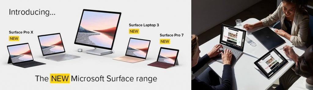 New Surface Range USPs Blog