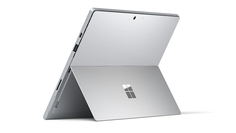 Microsoft Surface Pro 7 - Rear View