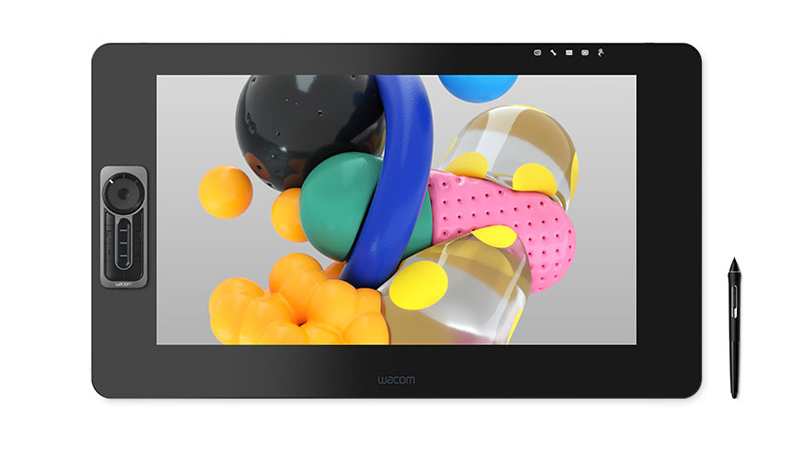 Wacom Cintiq Pro front view with pen