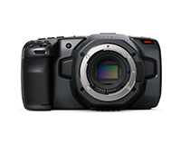 BlackMagic Design Pocket Cinema Camera 6K front view