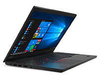 Lenovo ThinkPad E15 open side view