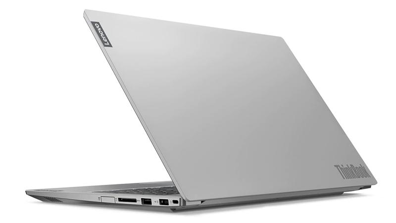 Lenovo ThinkBook 15 back open view