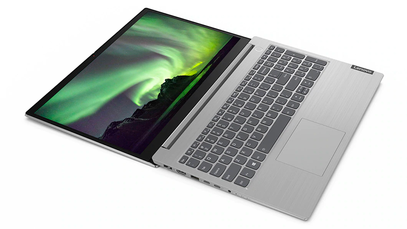 Lenovo ThinkBook 15 fully open view