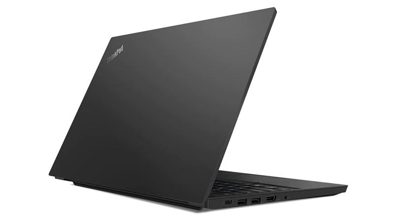 Lenovo ThinkPad E15 back open view