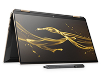 HP Spectre x360 Convertible laptop tablet view with pen