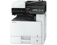 Kyocera ECOSYS M8124cidn A3 Colour Multifunction Laser Printer front view