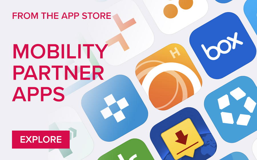 From the App Store - Mobility Partner Apps