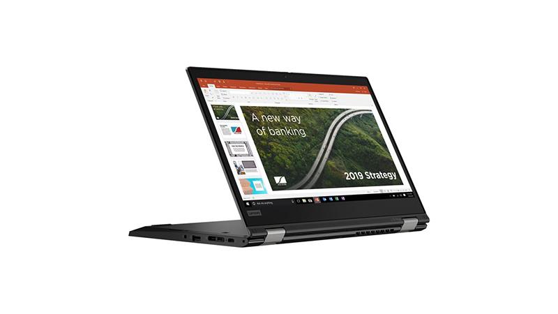 Lenovo ThinkPad L13 Yoga back tablet view