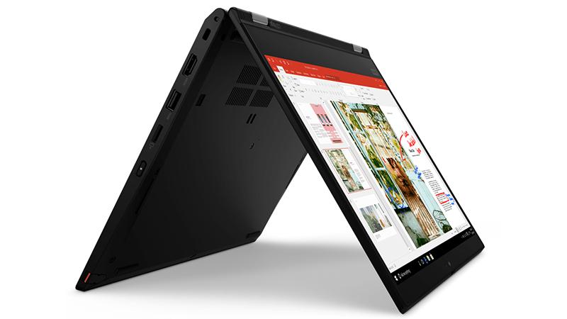 Lenovo ThinkPad L13 Yoga tablet side view