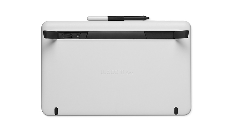 Wacom One Back view with pen