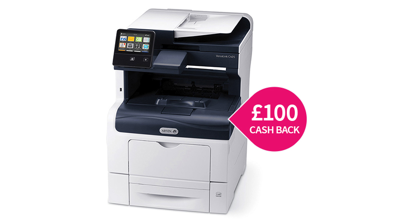 Xerox C405DN A4 printer with £100 cashback