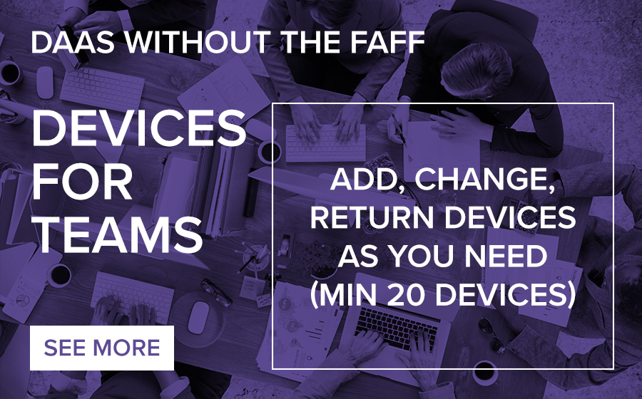 DAAS without the FAFF with Devices for Teams
