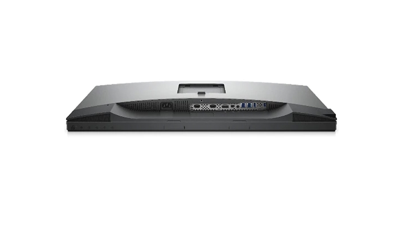"Dell UltraSharp 27"" 4K HDR monitor ports view"