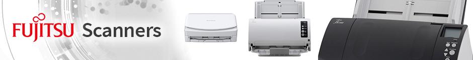 Fujitsu scanner range banner