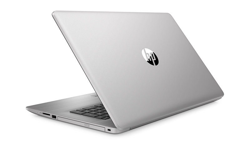 HP ProBook G7 470 laptop back open view