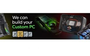 We can build your custom PC - Custom PC's x 3 and can have Intel Core i5, Core i7 & Core i9