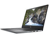 Dell Vostro 5481 side open view of laptop