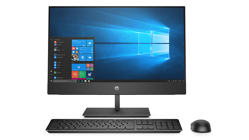 HP ProOne 600 G5 21.5″ All-In-One PC monitor keyboard and mouse