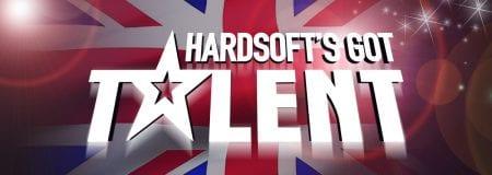 HardSoft's Got Talent on a Union Flag background