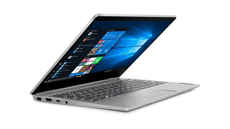 Lenovo ThinkBook 13S front open side view