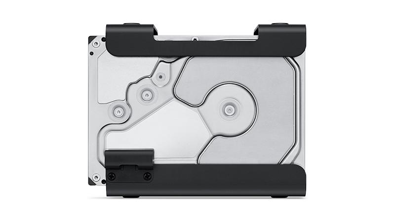Promise Pegasus J2i 8TB Internal Storage Enclosure for Mac Pro view of storage
